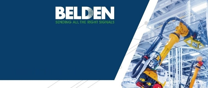 Belden百通工業線纜解決方案