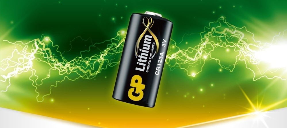 GP Lithium Batteries are ideal for Electronic Equipment