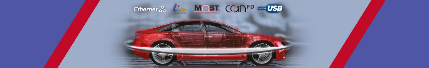 Microchip提供世界领先的汽车网络解决方案